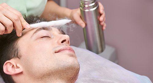 bőrgyógyászati kezelés