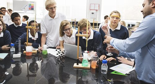 kémia oktatás