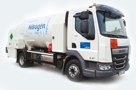 folyékony nitrogén szállító